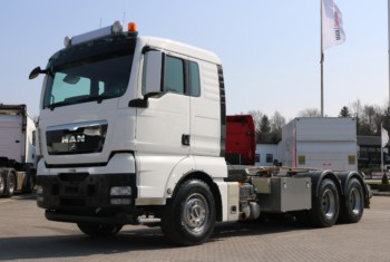 MAN TGX 26.480 6×4 Wirehejs