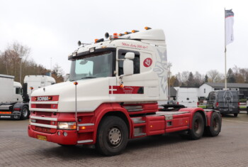 Scania T500 6×4