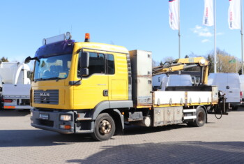 VK.33885 MAN TGL 12.240 4×2 m. Kran/Fast Lad