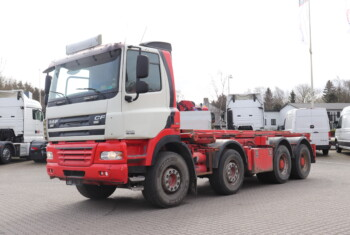 VK.33794 DAF CF 85.460 8×4 m. Wirehejs – 185.000,-