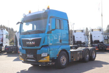 VK.33883 MAN TGX 26.560 6×4 FDLS m. Hydraulik