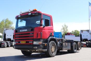Scania G114 340 6×2-2 m. Wirehejs