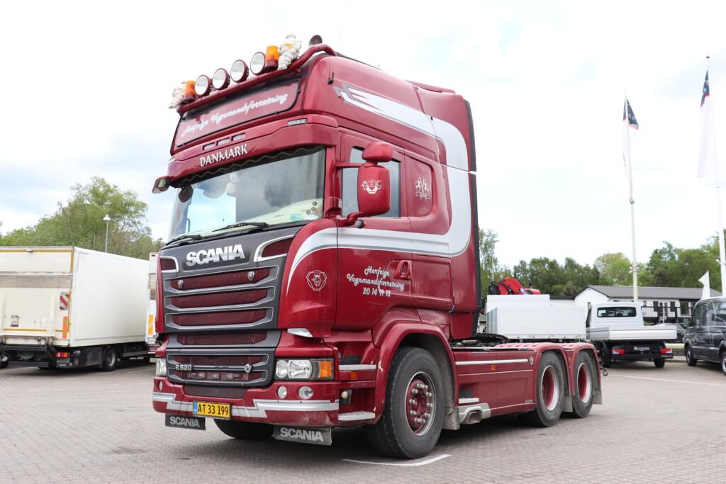 Scania R520 6×2-2 m. Hydraulik