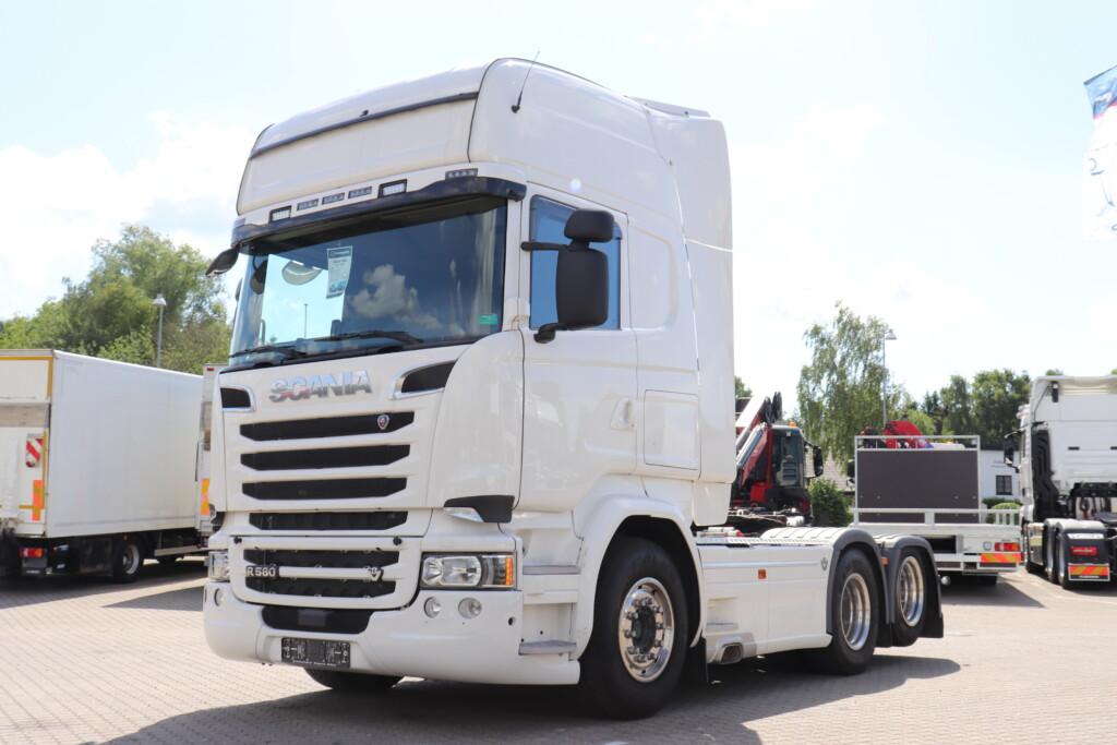 Scania R580 6×2-2 m. Hydraulik