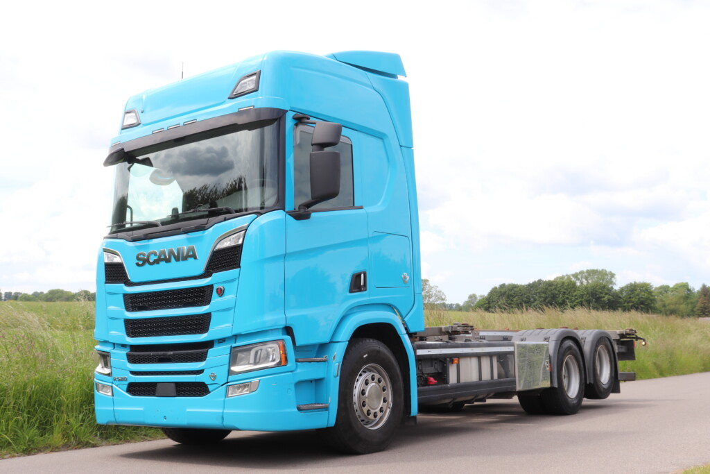 VK.33920 Scania R520 B6x2NB m. Veksellad/Container