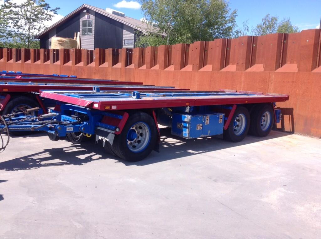 Nopa 3 Aks. Container Anhænger – AV 3020