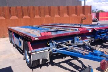 Nopa 3 Aks. Container Anhænger m. Tip – AV 3029
