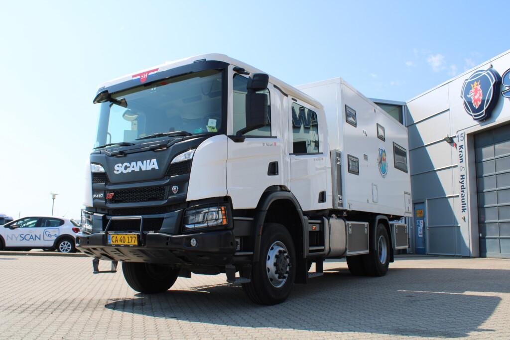 NYS Kom. bil – Scania P410 4×4