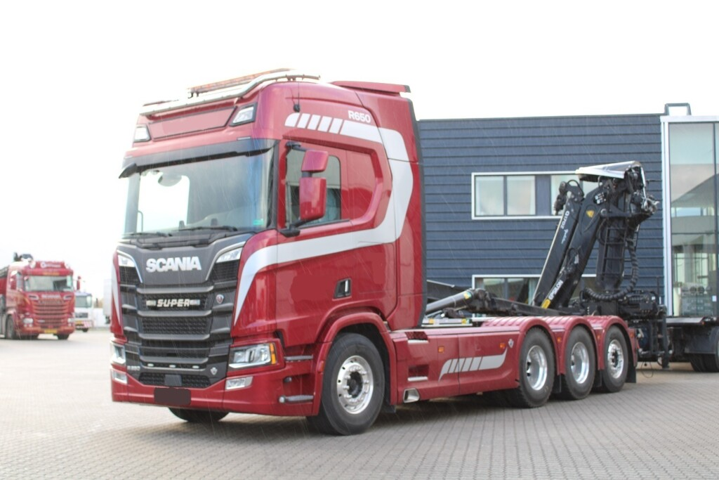 Scania R650 B8x4*4 m. Kroghejs/Kran