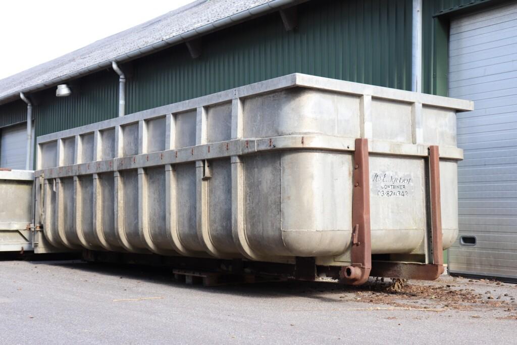 Alu Containerlad med hejseladsramme