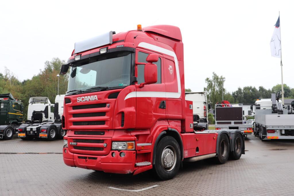 VK.33956 Scania R560 R6x4 m. Hydraulik