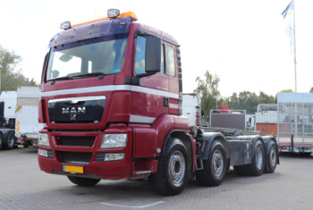 MAN TGS 35.480 8×4*6 m. Wirehejs