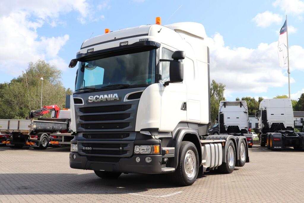 Scania R520 LA6x2MNB m. Hydraulik