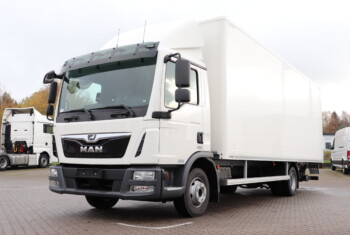 VK. 11622 MAN TGL 12.220 4×2 FLC m. Box/Lift