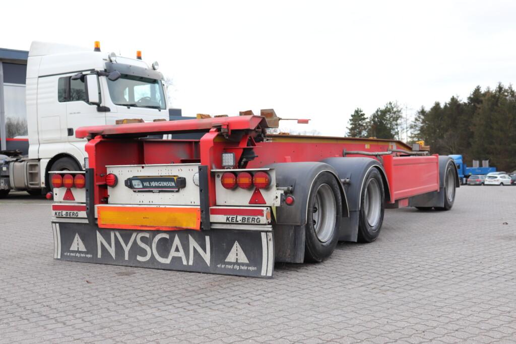 VK.40280 Kel-Berg 3 Aks. Container anhænger