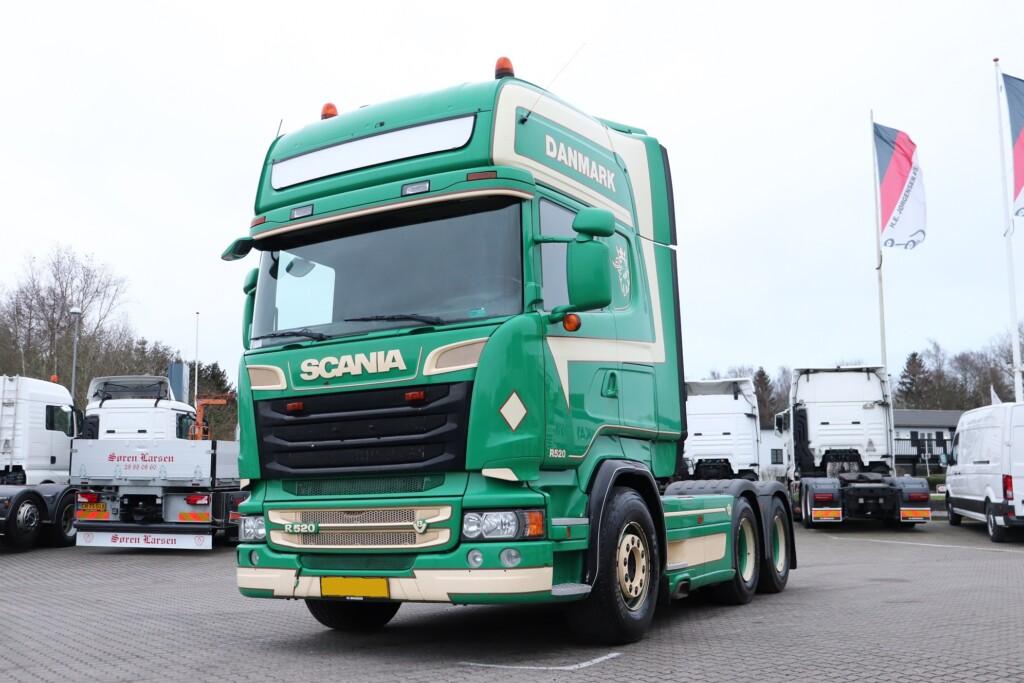 VK.33733 Scania R520 6×2 m. Hydraulik